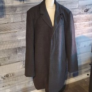 Mens XL wool coat
